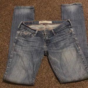 Hollister stretch straight leg jeans